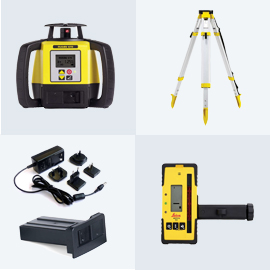 Leica Rugby 680 Dual Grade Laser Package