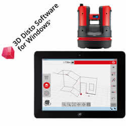 Leica Disto 3D Disto software for Windows