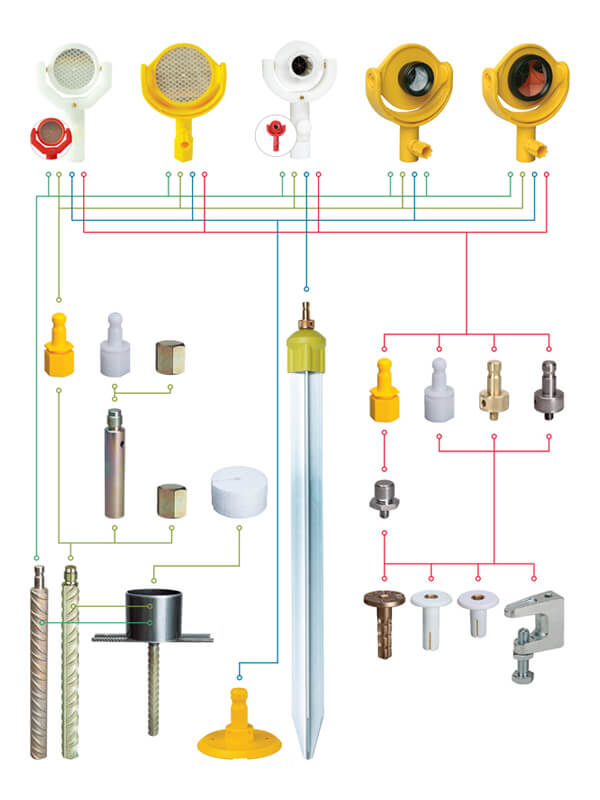 Reflectors and Monitoring System Matrix