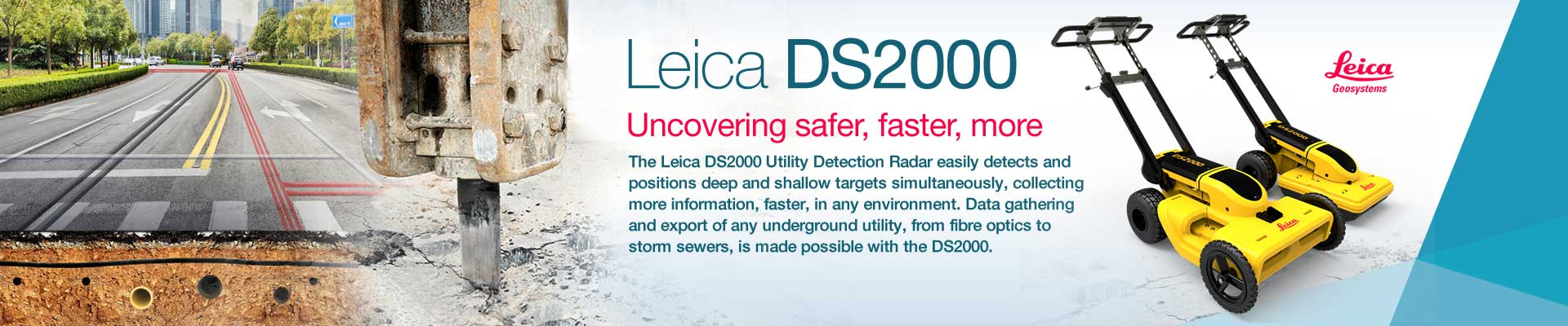 Leica DS2000 Utility Detection Radar