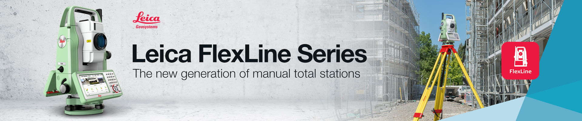 Leica Flexline Manual Total Stations