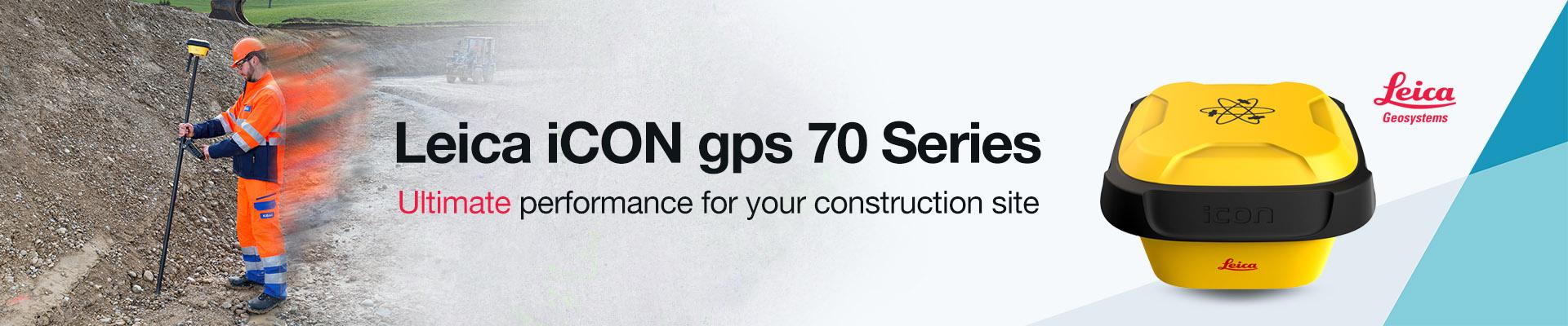 Leica iCON gps 70 Series