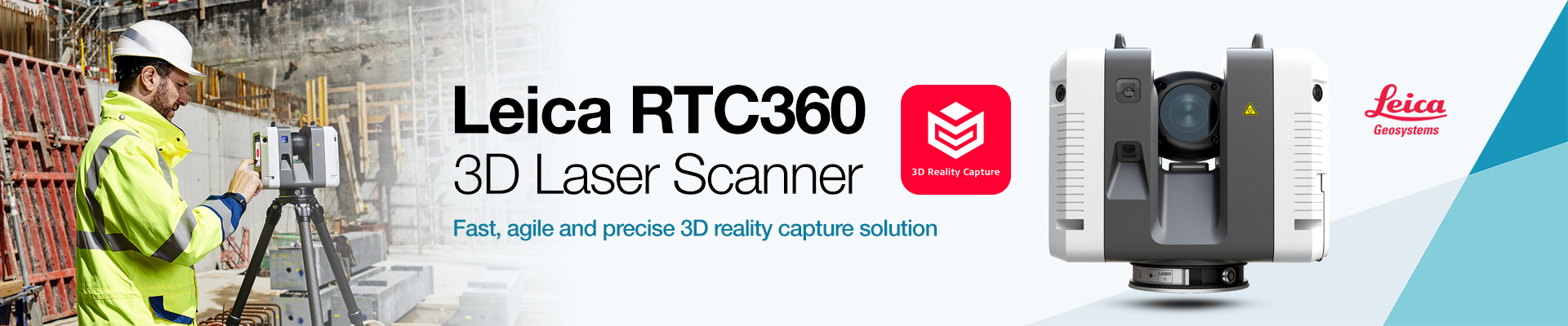 Leica RTC360 3D Reality Capture Solution