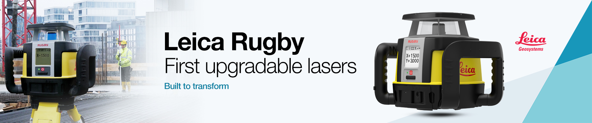 Leica Rugby Upgradable Lasers