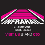 InfraRail - 1st -3rd May 2018 at the ExCel, London