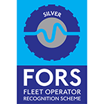 SCCS Survey Equipment continue to be FORS Silver Accredited