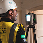 The full laser scan survey of a Grade II* Listed historic building
