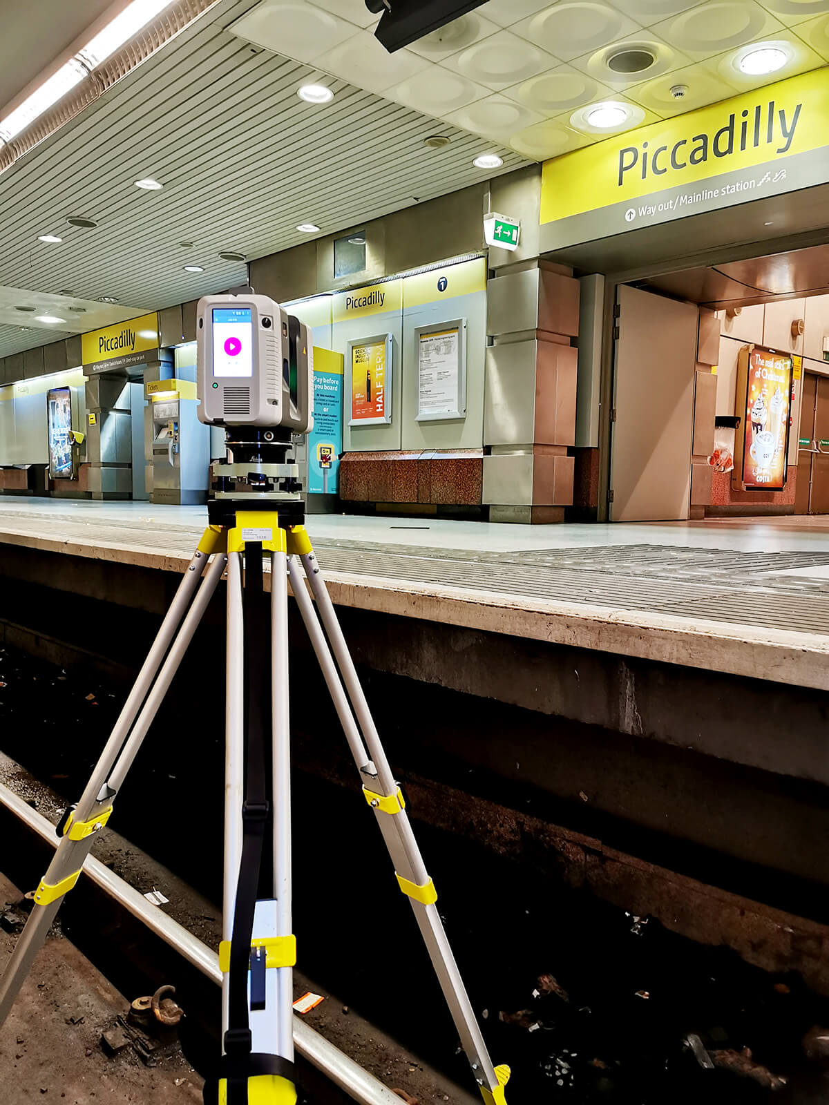 SCANTECH INTERNATIONAL Efficient Scanning of a Metro Station with the Leica RTC360 Laser Scanner