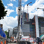 Delivering Leica Mc1 with Explore Plant and Transport Solutions to Key Infrastructure Projects